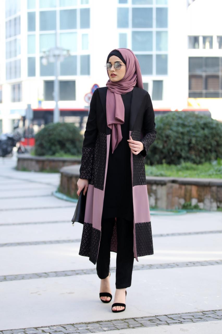 ازياء بنات محجبات 2020 ازياء محجبات احدث ستايلات حجاب 28