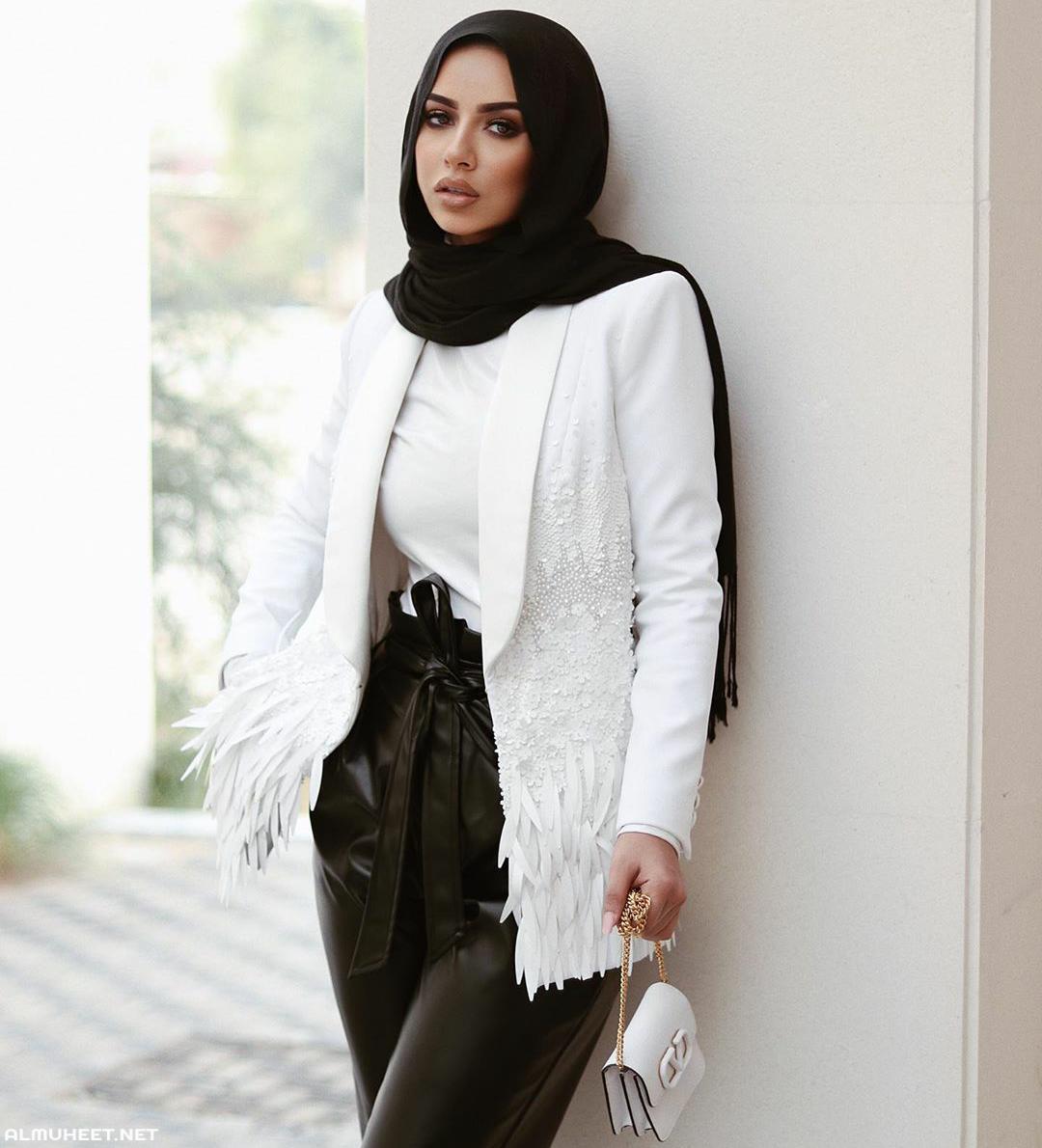 ازياء بنات محجبات 2020 ازياء محجبات احدث ستايلات حجاب 3