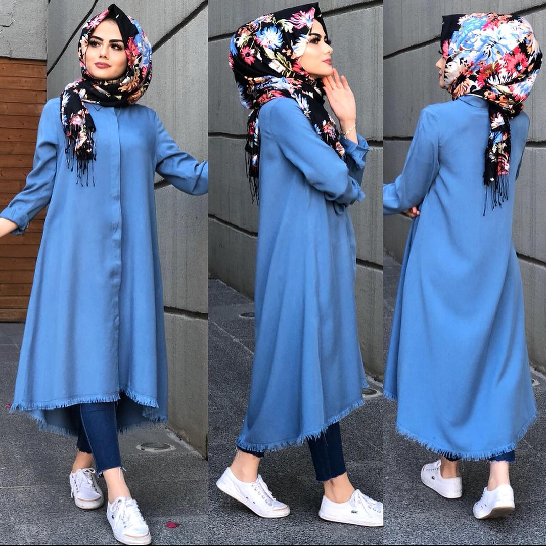 ازياء بنات محجبات 2020 ازياء محجبات احدث ستايلات حجاب 40