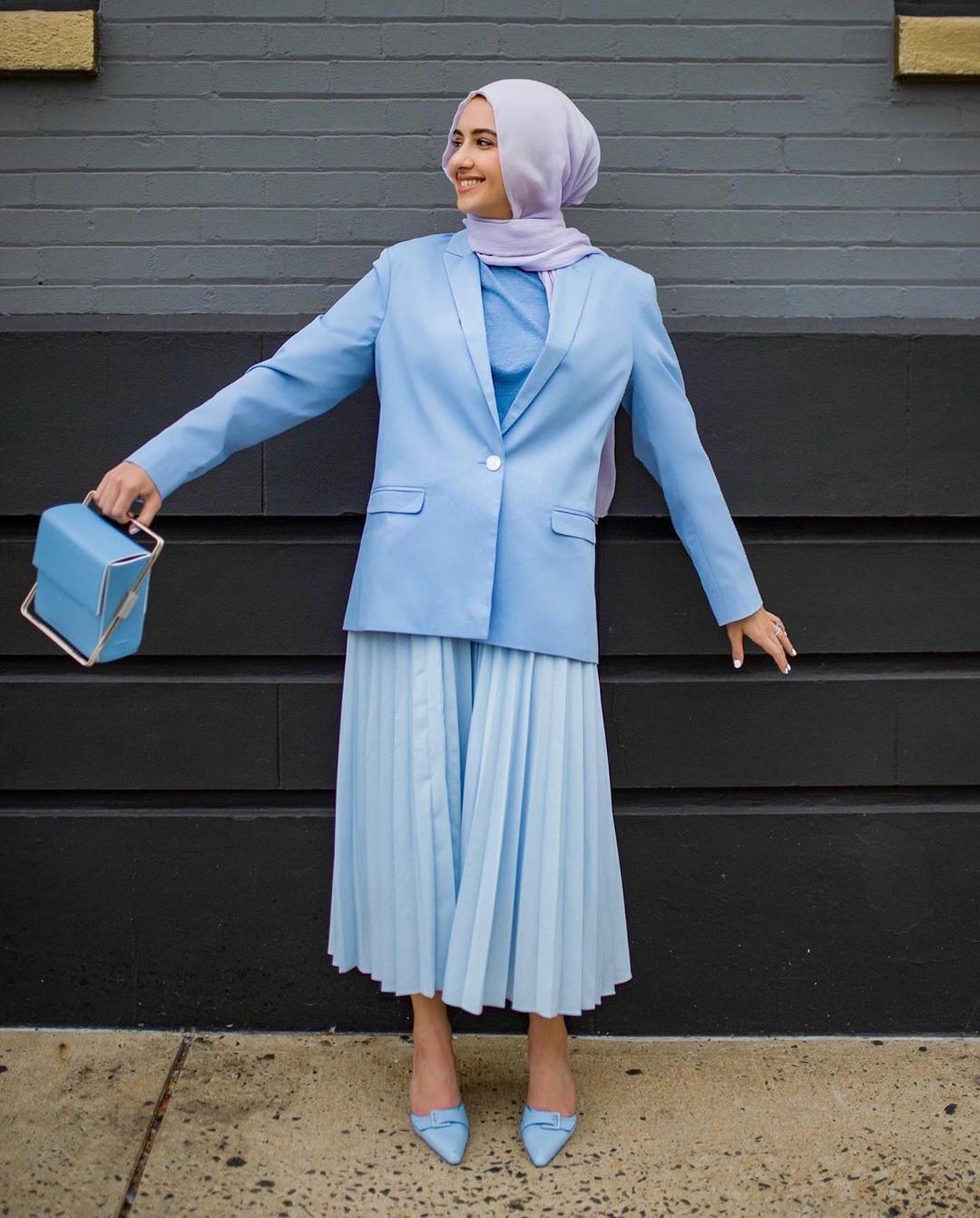 ازياء بنات محجبات 2020 ازياء محجبات احدث ستايلات حجاب 5
