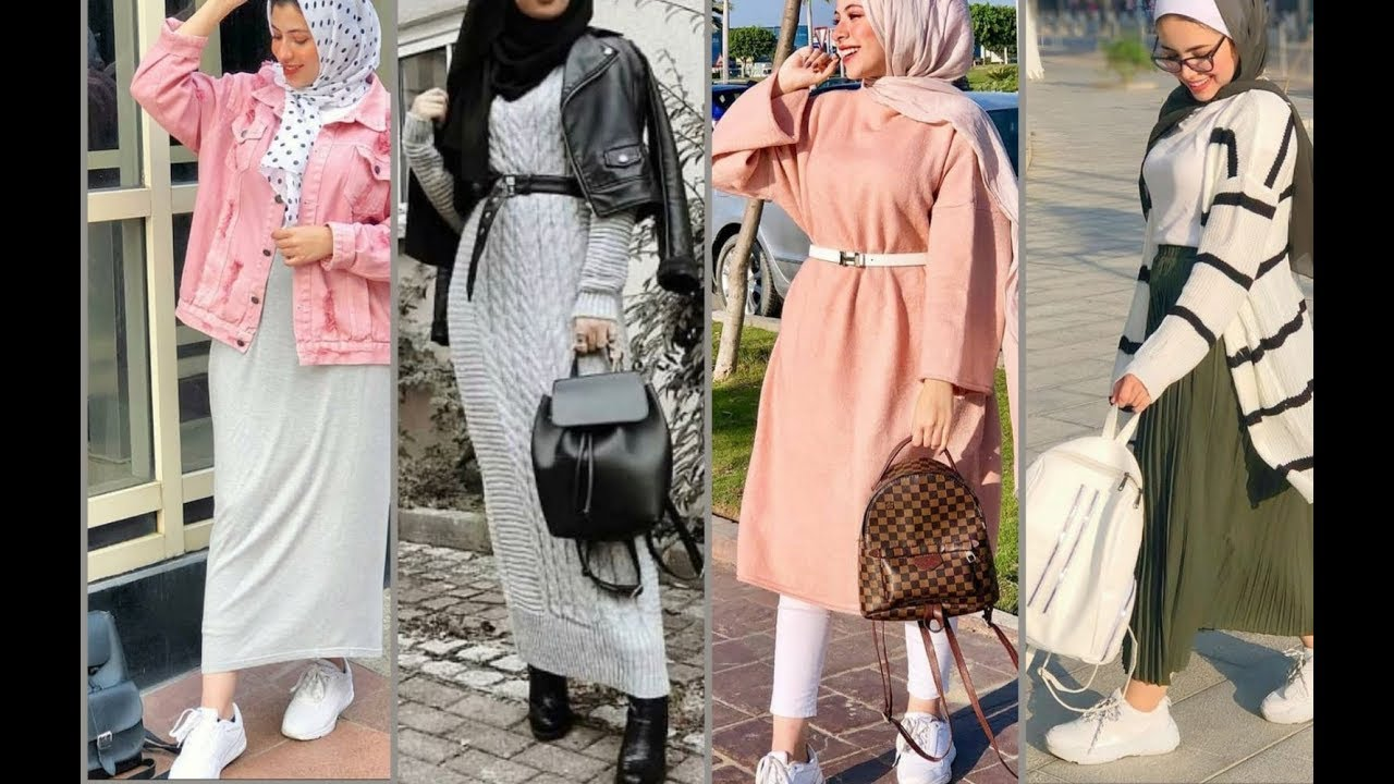 ازياء بنات محجبات 2020 ازياء محجبات احدث ستايلات حجاب 80