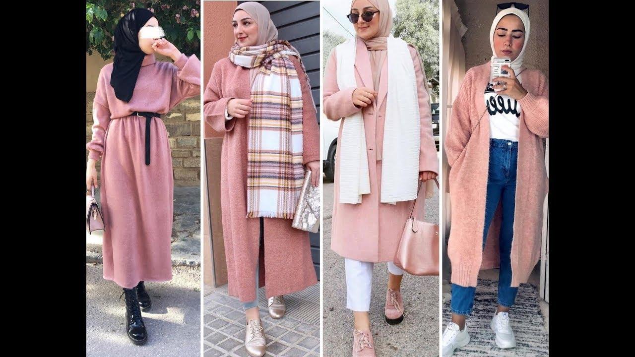 ازياء بنات محجبات 2020 ازياء محجبات احدث ستايلات حجاب 82
