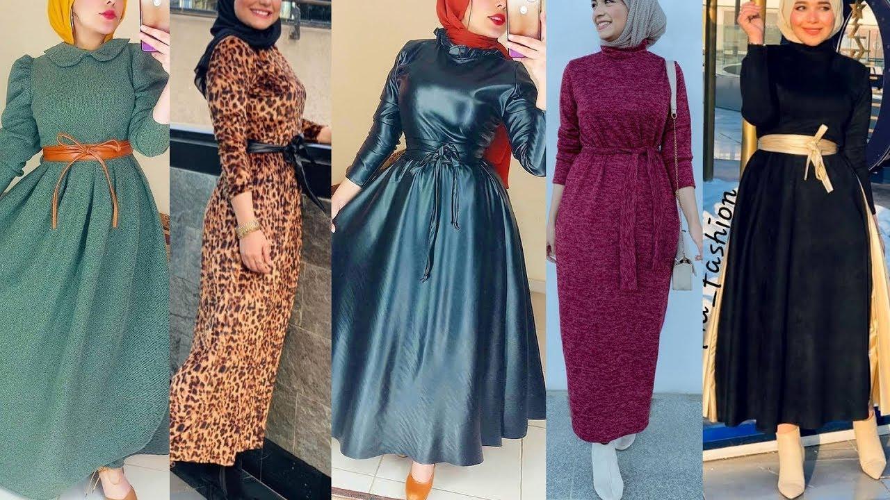 ازياء بنات محجبات 2020 ازياء محجبات احدث ستايلات حجاب 84