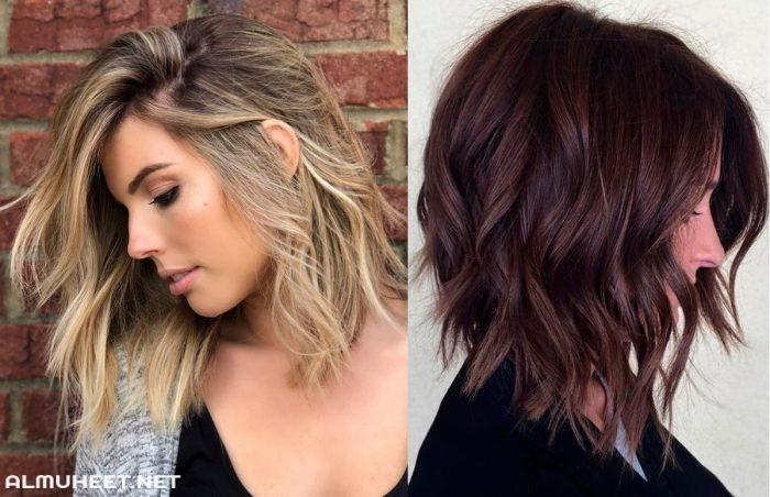 تسريحات شعر طويل 2020 10