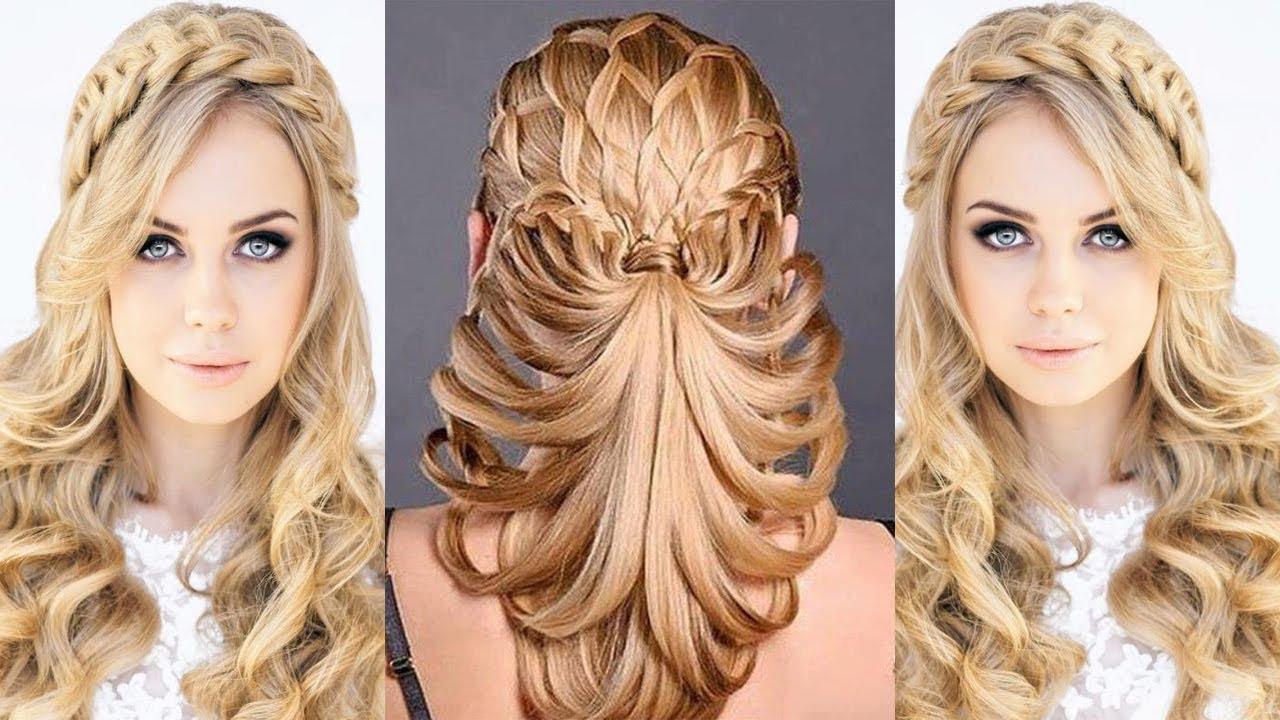 تسريحات شعر طويل 2020 8