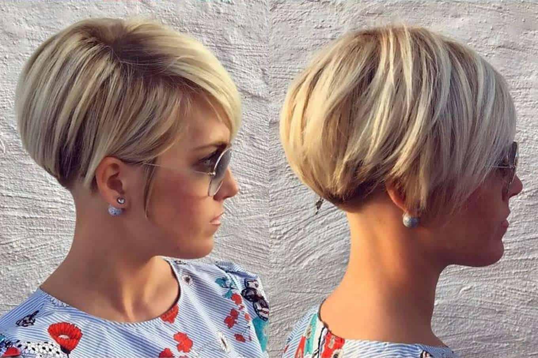 تسريحات شعر قصير 2020 14