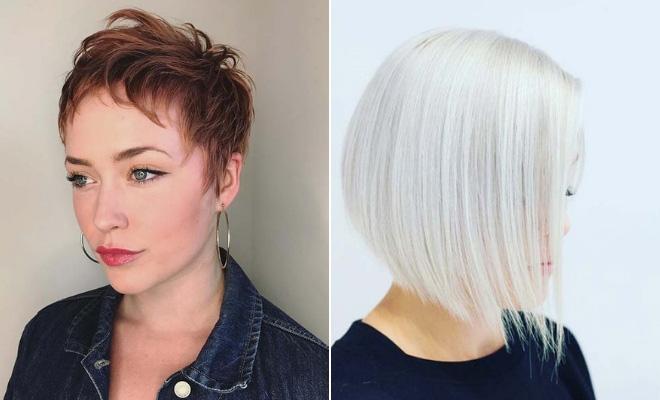 تسريحات شعر قصير 2020 17