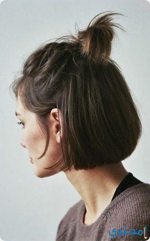 تسريحات شعر قصير 2020 18