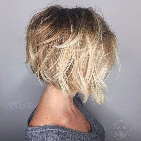 تسريحات شعر قصير 2020 20
