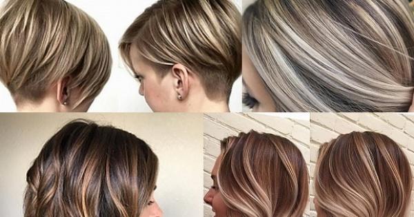 تسريحات شعر قصير 2020 22