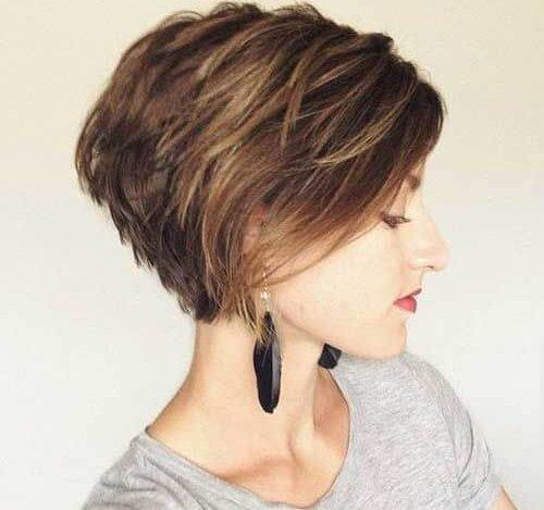 تسريحات شعر قصير 2020 25