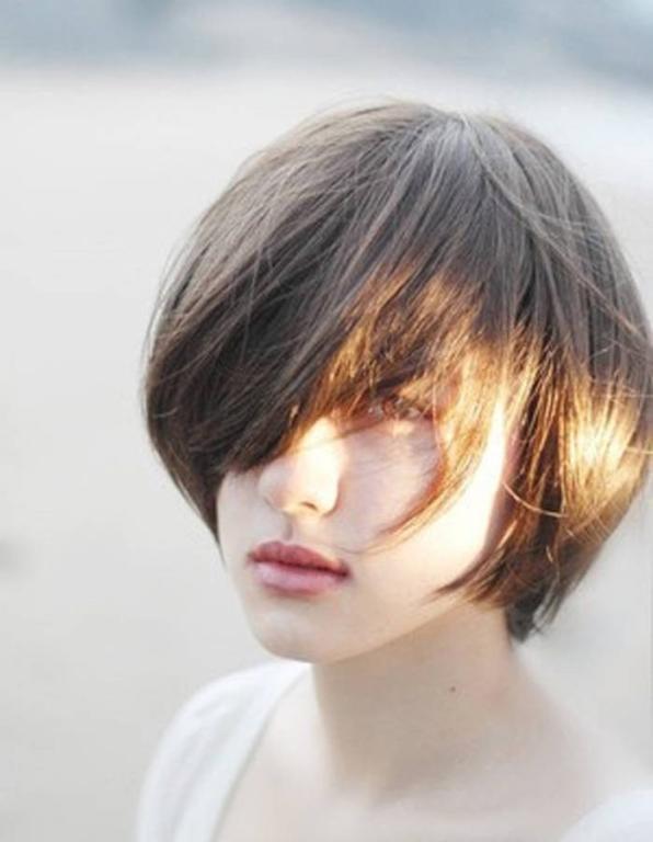 تسريحات شعر قصير 2020 3