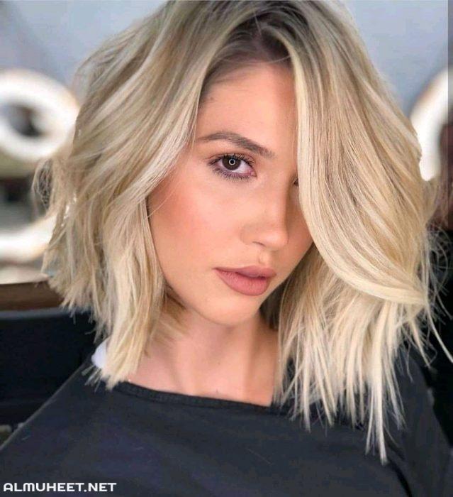 تسريحات شعر 2020 5