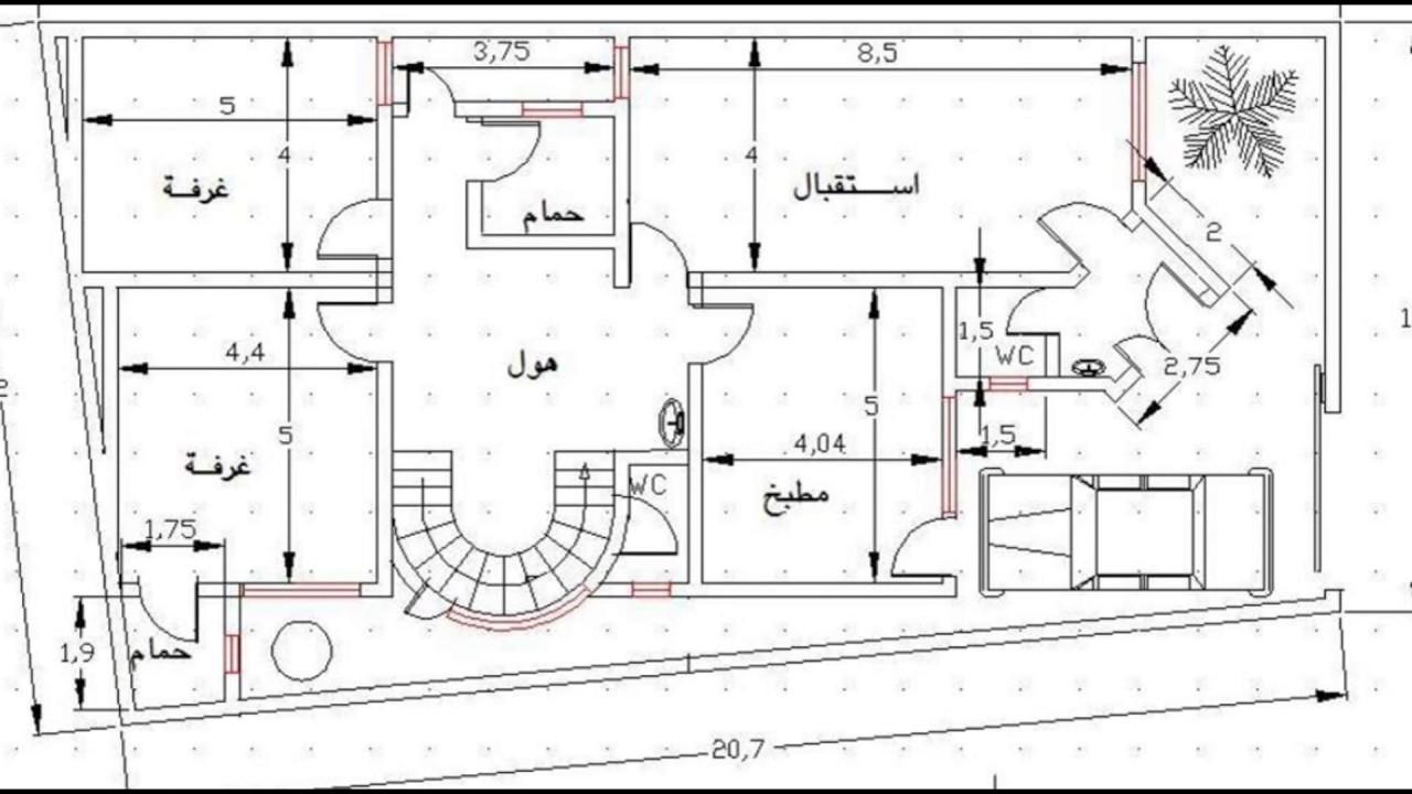 تصاميم منازل 2020 11