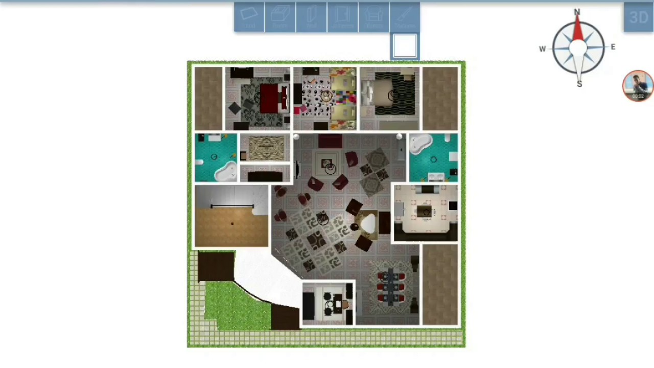 تصاميم منازل 2020 18