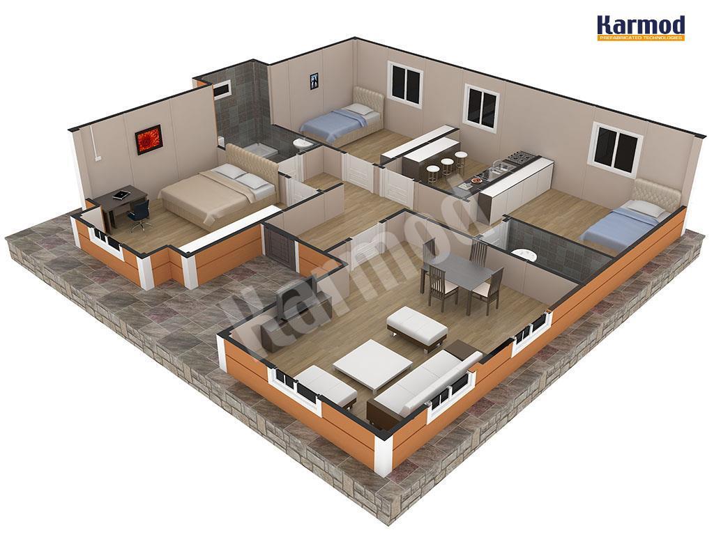 تصاميم منازل 2020 22
