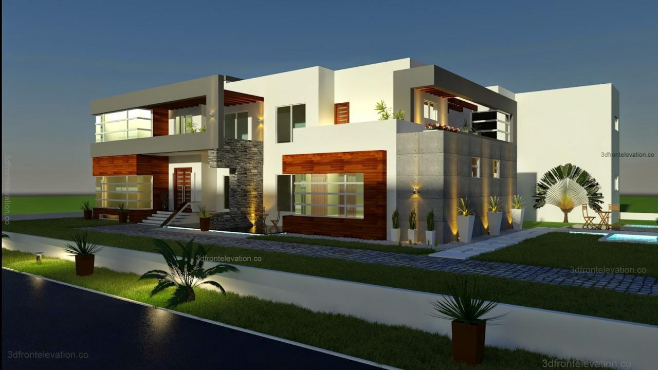 تصاميم منازل 2020 23