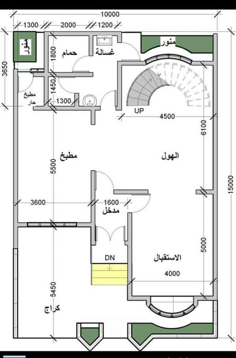 تصاميم منازل 2020 29