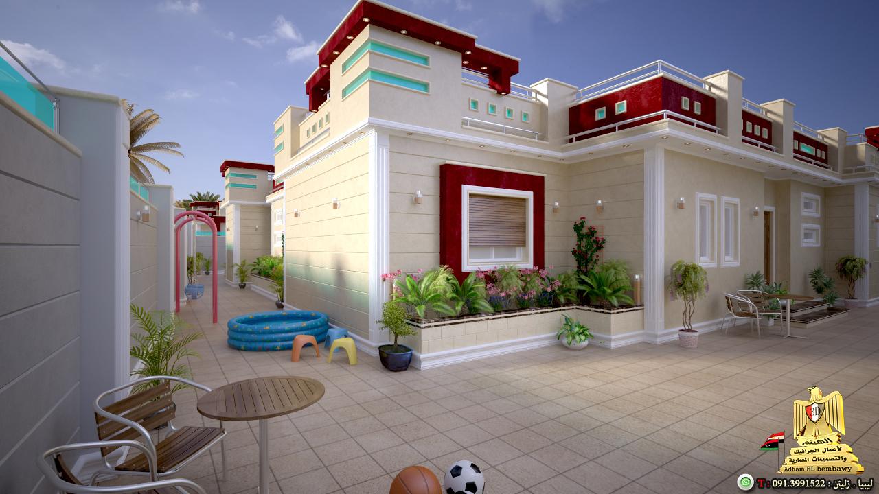 تصاميم منازل 2020 38