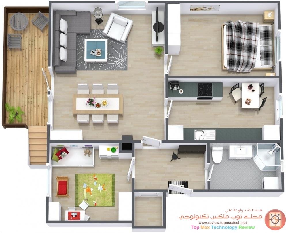 تصاميم منازل 2020 46