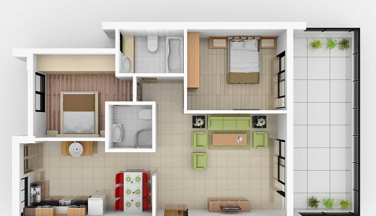 تصاميم منازل 2020 5
