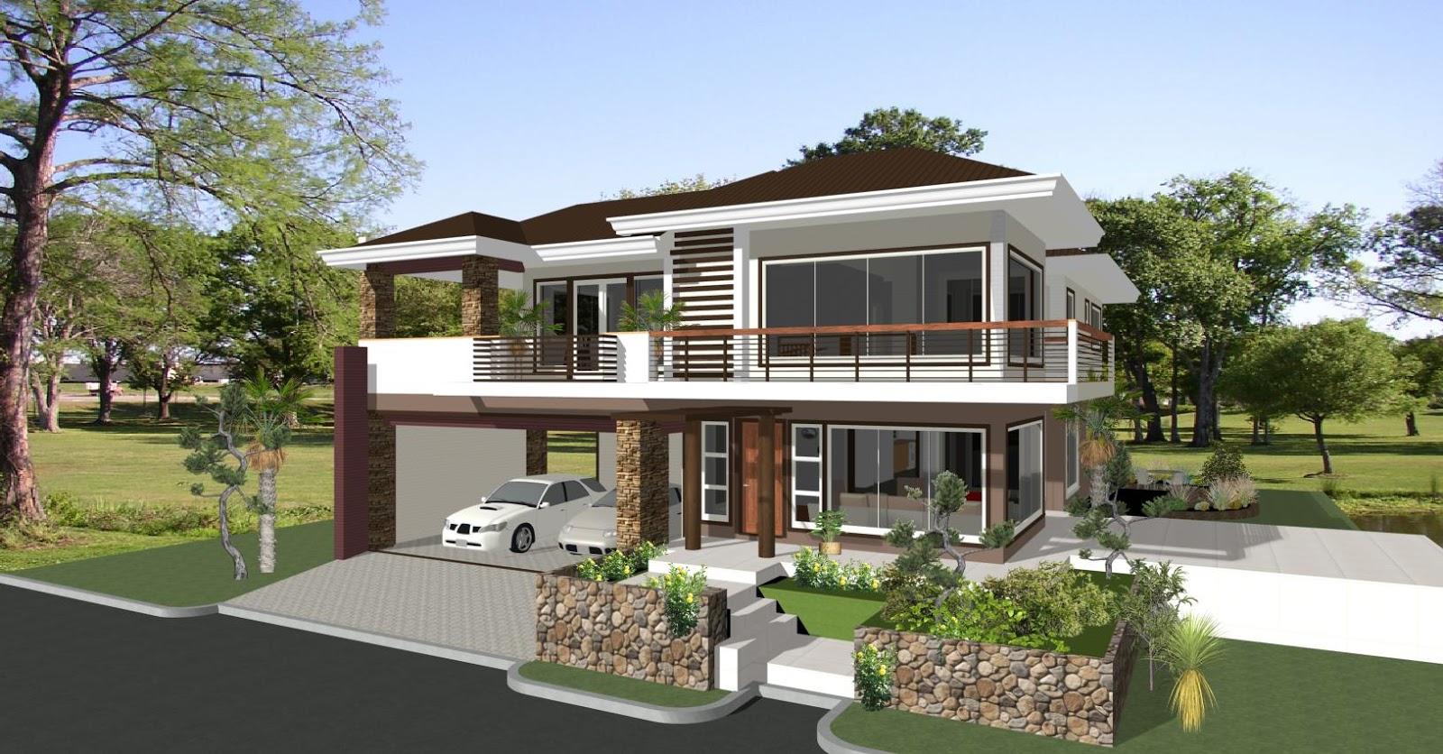 تصاميم منازل 2020 52
