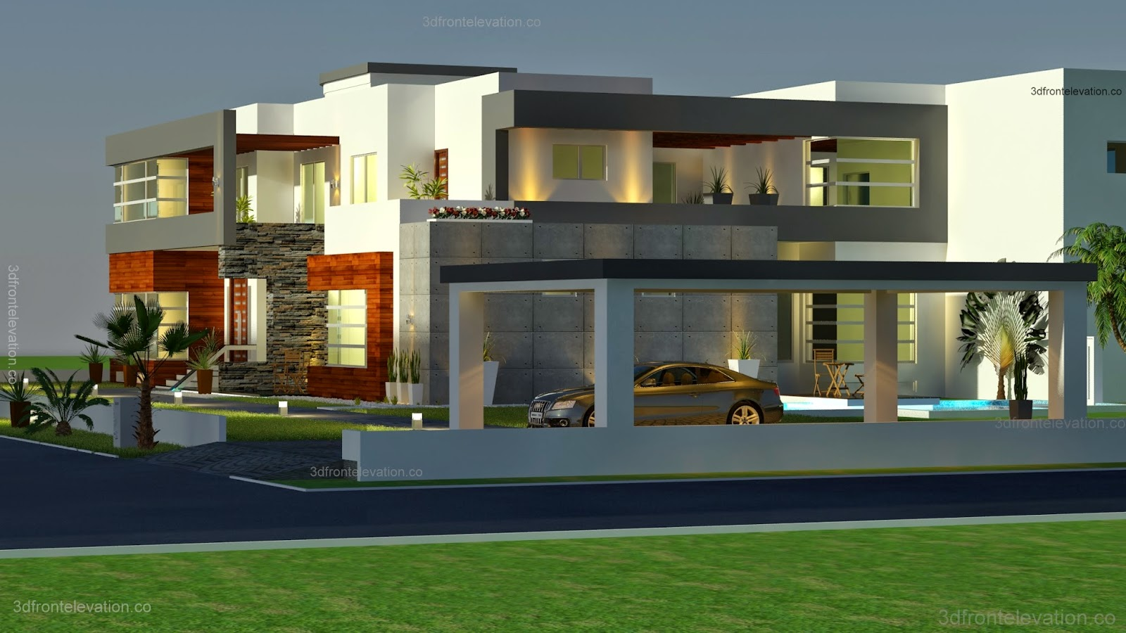 تصاميم منازل 2020 63