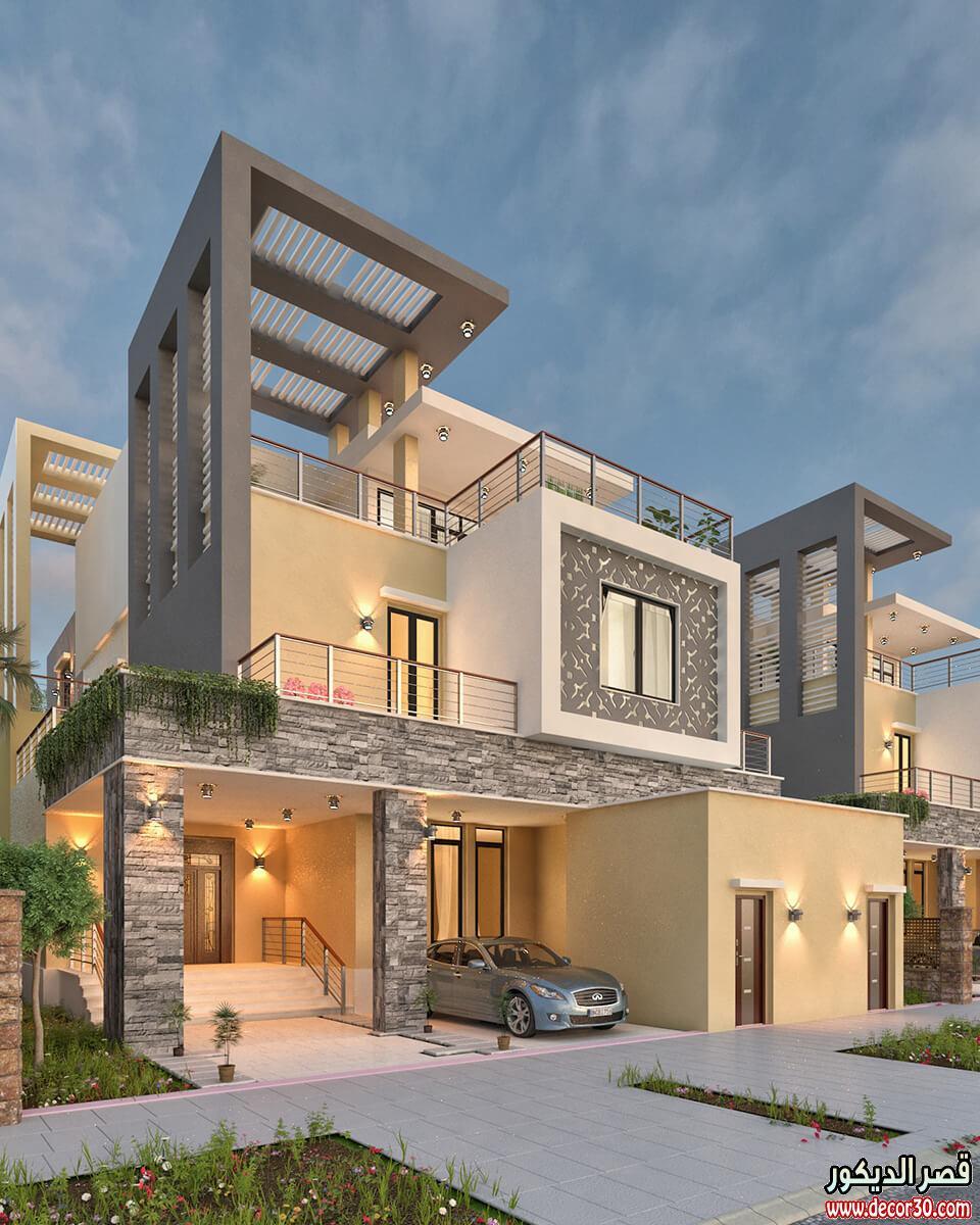 تصاميم منازل 2020 78