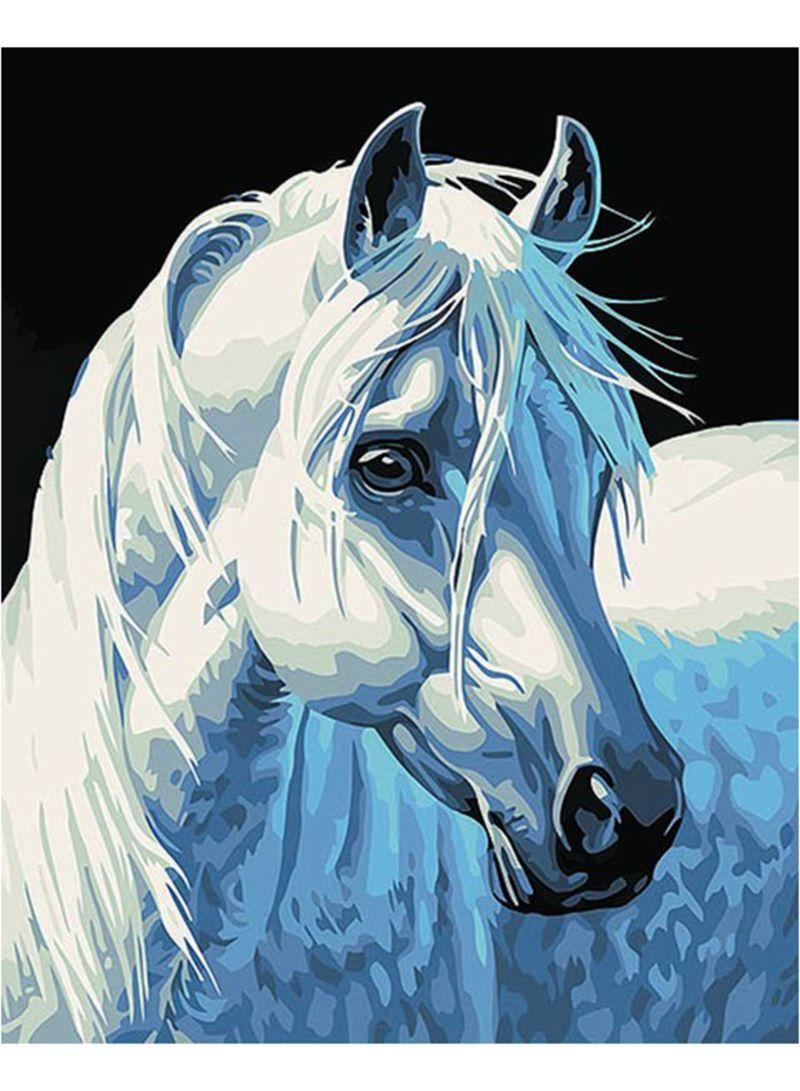 حصان ابيض 19