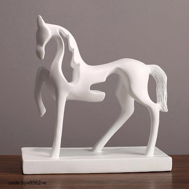حصان ابيض 40