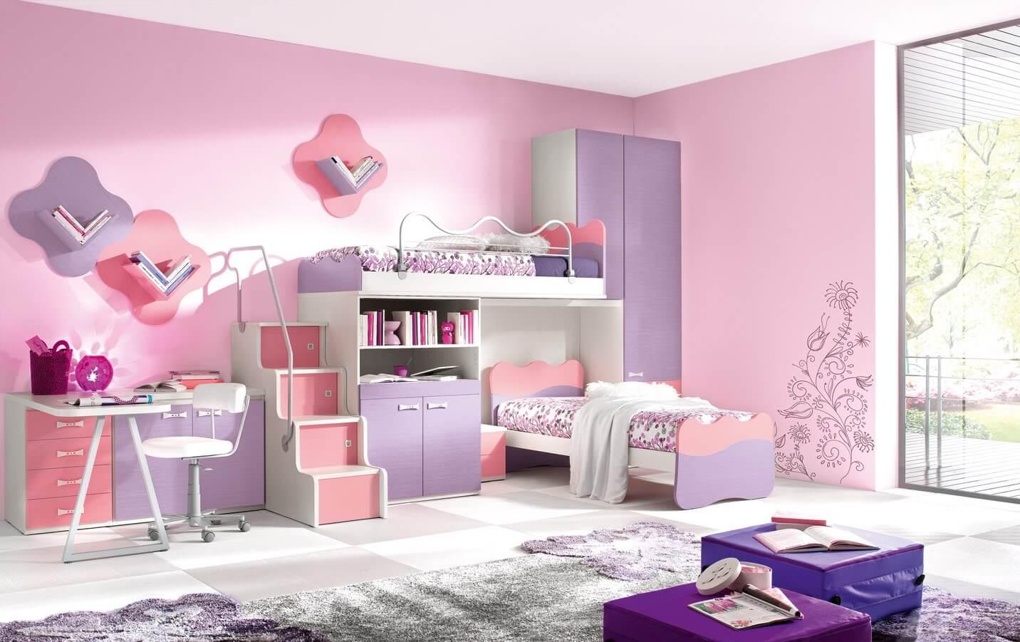 غرف نوم اطفال مودرن 16