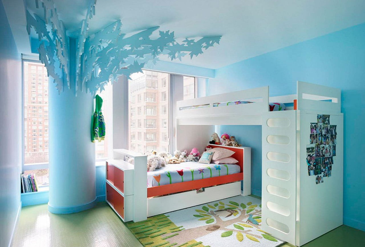 غرف نوم اطفال مودرن 2