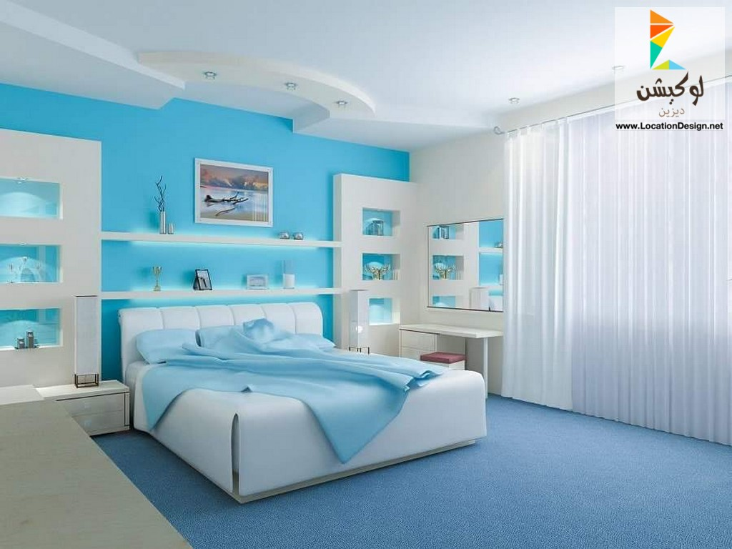 غرف نوم مودرن ديكورات غرف نوم صور غرف نوم 2020 16