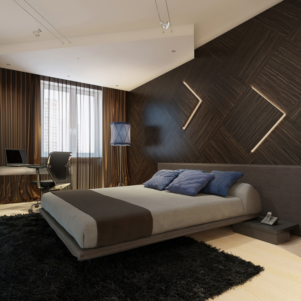 غرف نوم مودرن ديكورات غرف نوم صور غرف نوم 2020 74