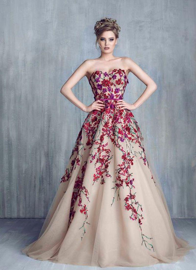 ملابس بنات عرض ازياء فستان سهرة صور فساتين سهره صور ملابس 2020 11