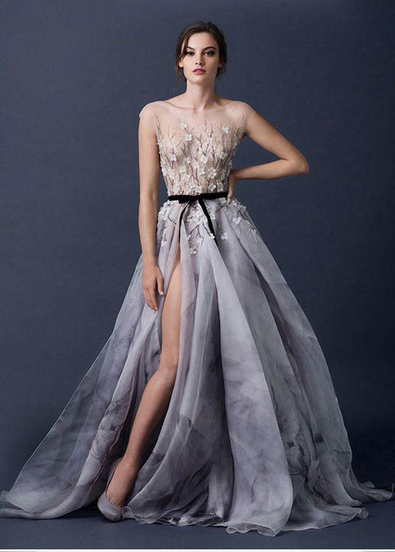 ملابس بنات عرض ازياء فستان سهرة صور فساتين سهره صور ملابس 2020 16