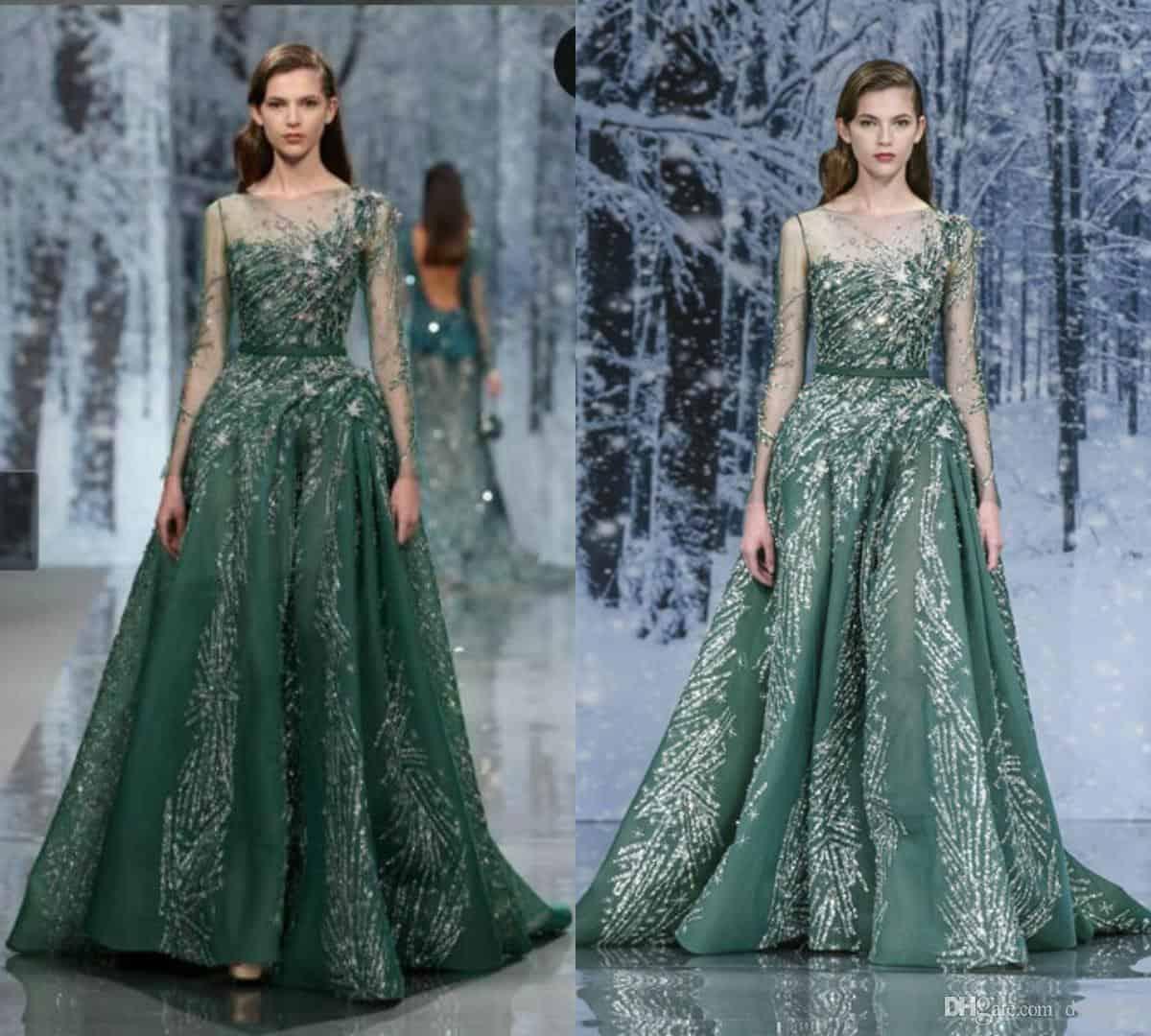 ملابس بنات عرض ازياء فستان سهرة صور فساتين سهره صور ملابس 2020 21