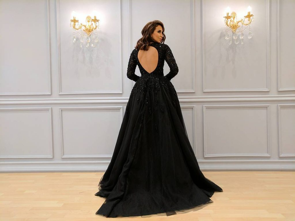 ملابس بنات عرض ازياء فستان سهرة صور فساتين سهره صور ملابس 2020 22