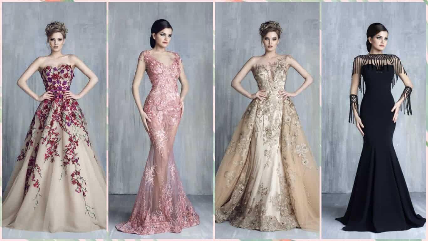 ملابس بنات عرض ازياء فستان سهرة صور فساتين سهره صور ملابس 2020 26