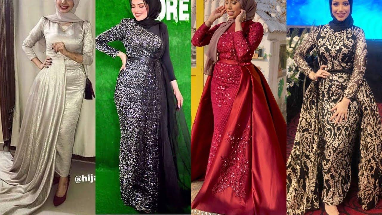 ملابس بنات عرض ازياء فستان سهرة صور فساتين سهره صور ملابس 2020 44