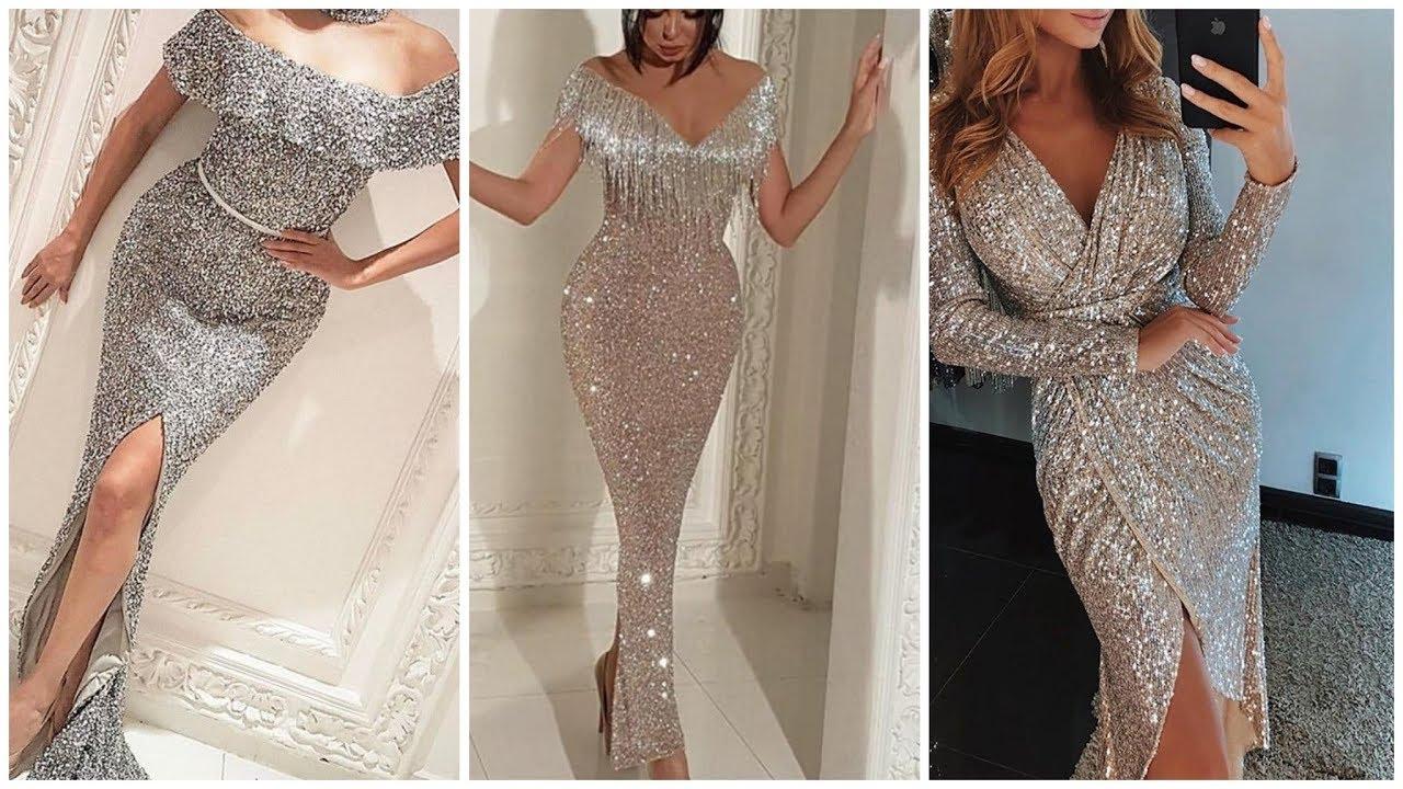 ملابس بنات عرض ازياء فستان سهرة صور فساتين سهره صور ملابس 2020 45