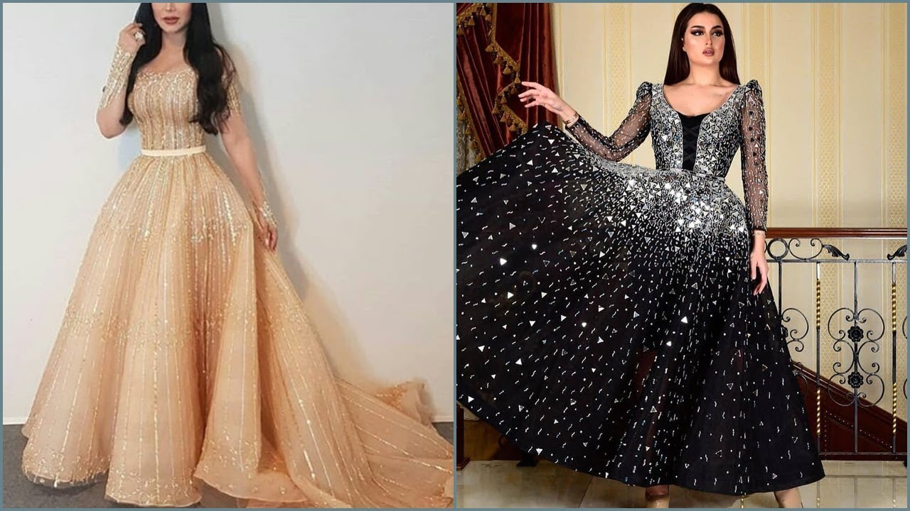 ملابس بنات عرض ازياء فستان سهرة صور فساتين سهره صور ملابس 2020 47