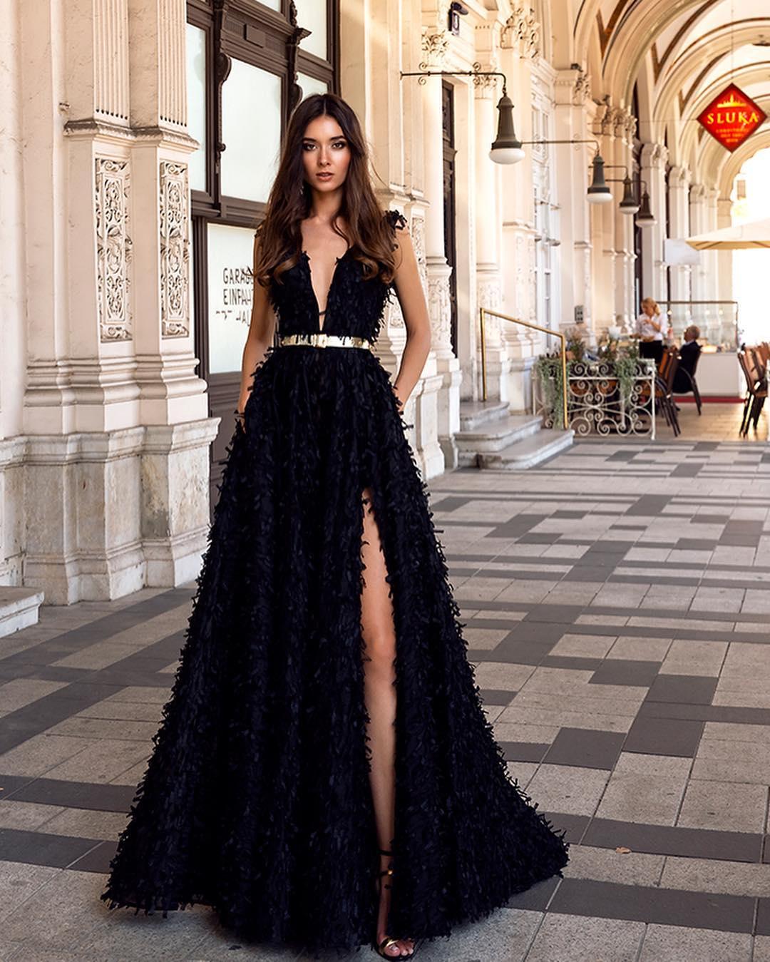 ملابس بنات عرض ازياء فستان سهرة صور فساتين سهره صور ملابس 2020 50