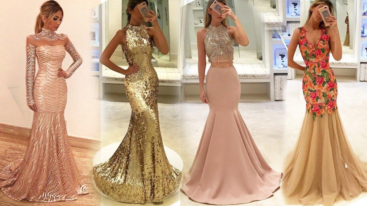 ملابس بنات عرض ازياء فستان سهرة صور فساتين سهره صور ملابس 2020 54