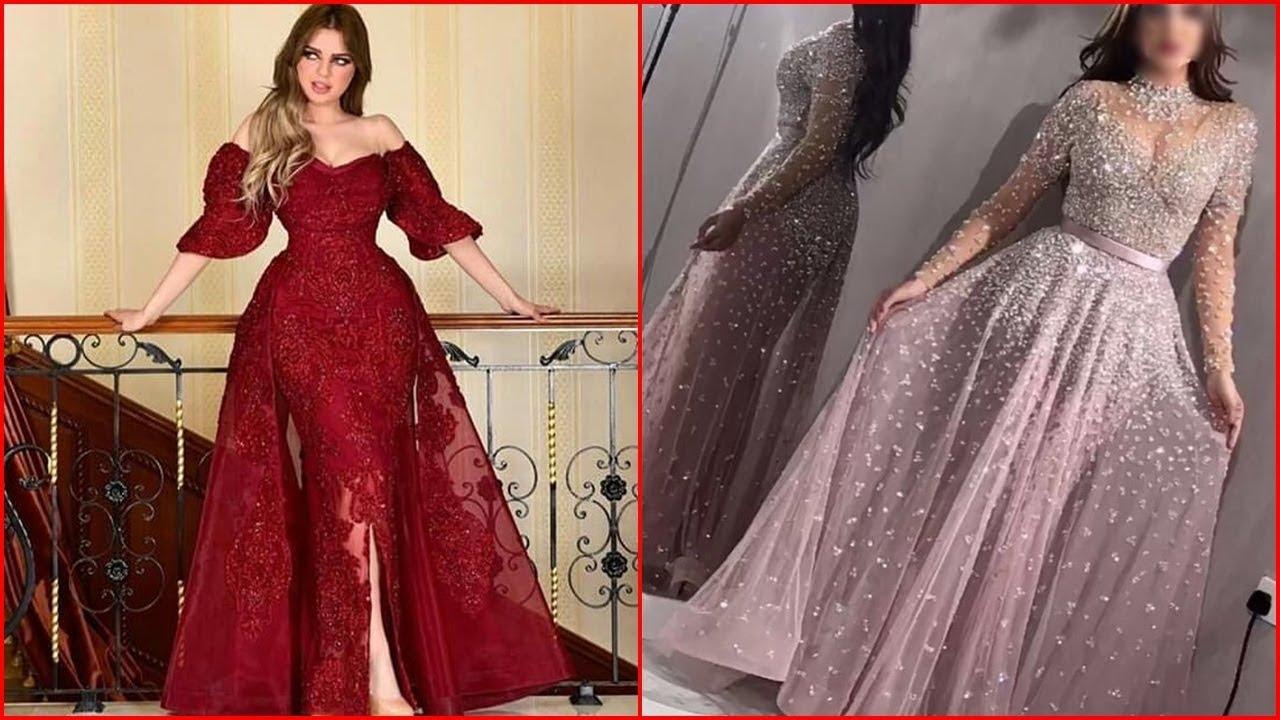 ملابس بنات عرض ازياء فستان سهرة صور فساتين سهره صور ملابس 2020 56