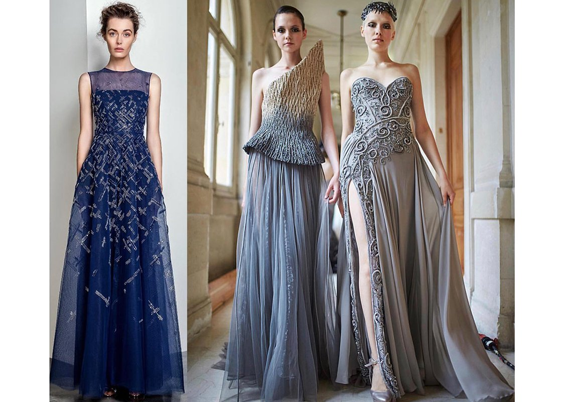 ملابس بنات عرض ازياء فستان سهرة صور فساتين سهره صور ملابس 2020 6