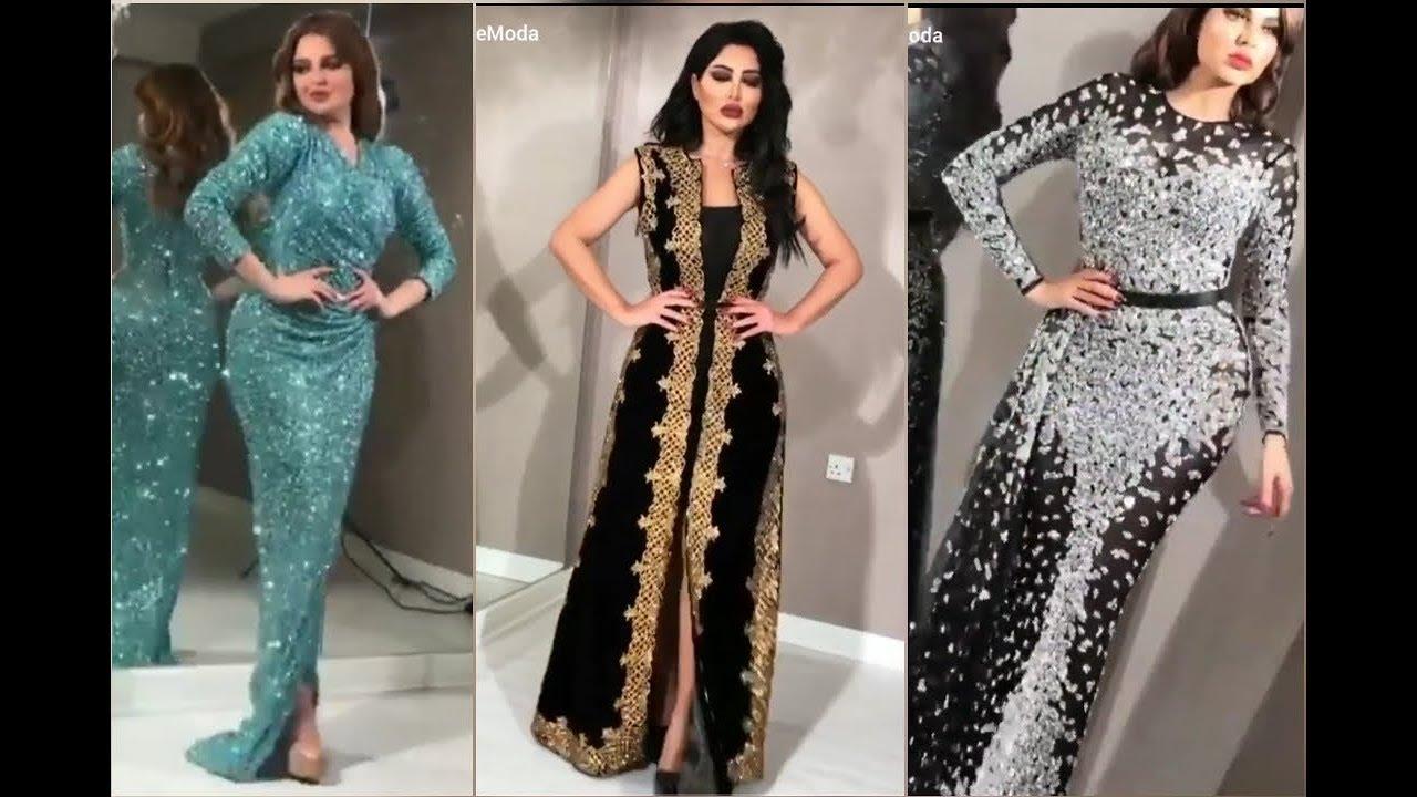 ملابس بنات عرض ازياء فستان سهرة صور فساتين سهره صور ملابس 2020 65