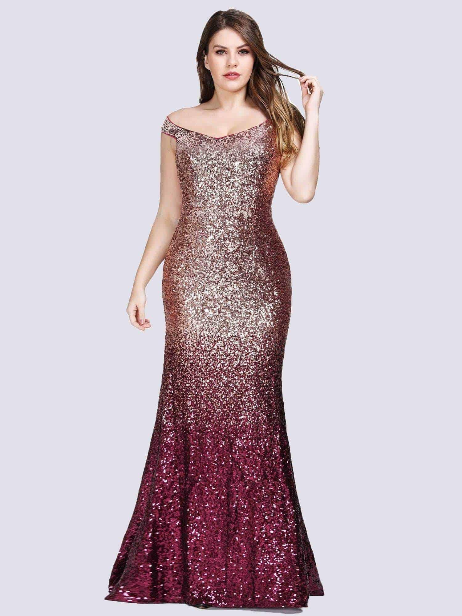 ملابس بنات عرض ازياء فستان سهرة صور فساتين سهره صور ملابس 2020 69